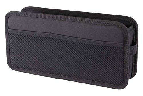 ナポレックス 車用 収納ポケット 純正感覚 ブラックしっかり形状 レジ袋やタオルも掛けられる 汎用 JK-95