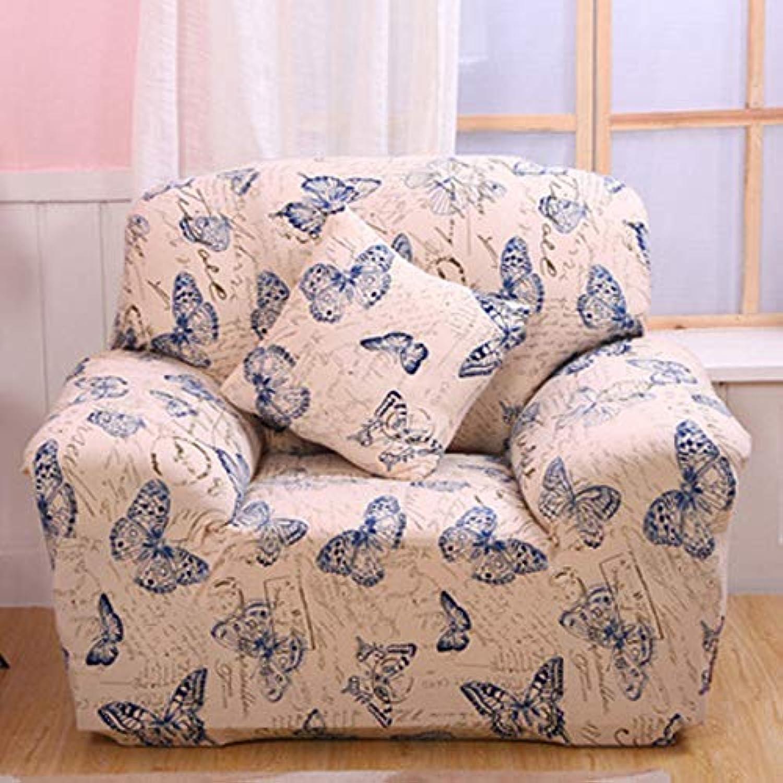 Vivona One Seater Textile Spandex Strench Flexible Printed Vivona astic Sofa Couch Cover Furniture Predector - (color   08)