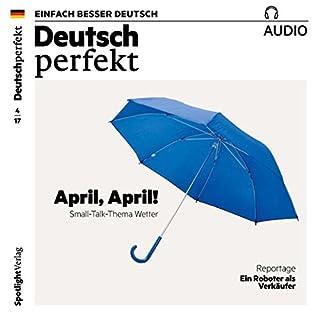 Deutsch lernen Audio - April, April! Small-Talk-Thema Wetter Titelbild
