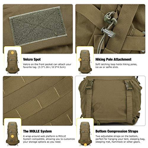 Mardingtop 50L/60L Mochila Táctica Militar Mochilas de...