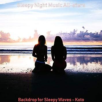 Backdrop for Sleepy Waves - Koto