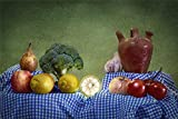 zhangshifa Puzzles 1000 Pieces,Bodegón Cocina Mesa De Comida Rompecabezas De Madera DIY,Juego De Jigsaws Puzzles para Niños Adultos-75 * 50cm