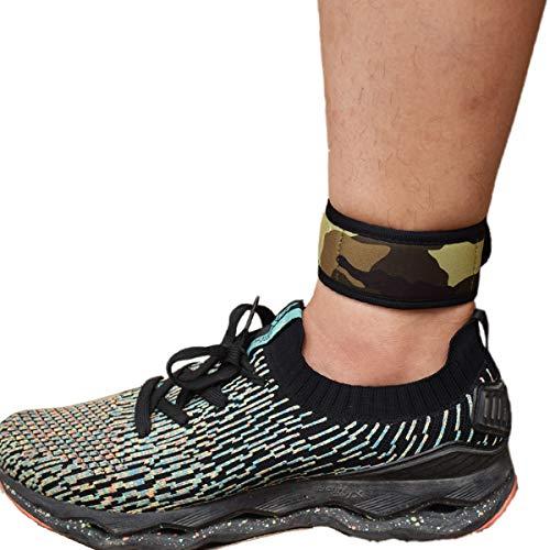 B-Great Knöchelband mit Netztasche für Männer und Frauen, kompatibel mit Fitbit Flex 2/Fitbit One/Fitbit Alta/Fitbit Charge 2 3/Misfit Ray/Fitbit Inspire HR Fitness-Tracker., Jungen, camouflage, Small