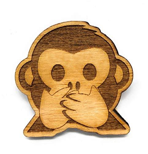 Neodym Kühlschrank Magnet Affe nichts sagen
