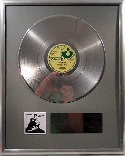 The Scorpions Gold Ballads platin Schallplatte (goldene Schallplatte)