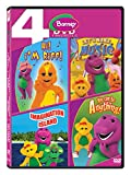 Barney: Hi! I'm Riff! + Let's Make Music + Imagination Island + You Can be Anything (4-Disc Box Set)