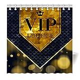 YISUMEI Hem Gewichte Vorhang Duschvorhang Mode Duschvorhänge 180x200 cm VIP Lounge Mode
