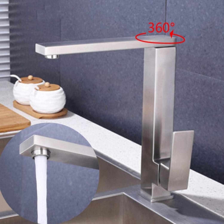 Gorheh Küchenarmatur Spüle Mischbatterie Messing Küchenarmaturen Single Handle Deck Montiert Armaturen