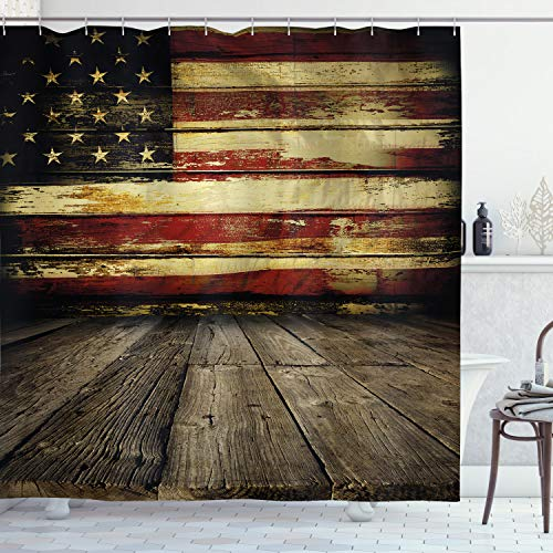 Old Flag Shower Curtain