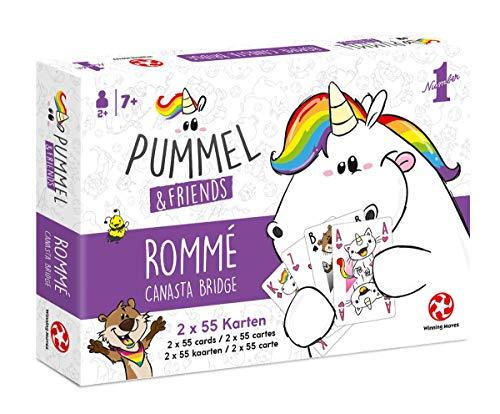 Pummel & Friends - Spielkarten - Rommé-Canasta