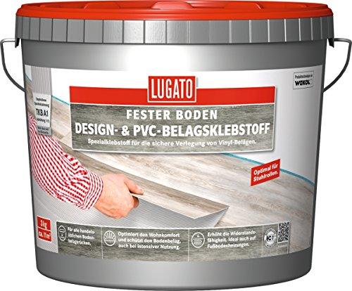 LUGATO GmbH & Co. KG Lugato Design- und PVC-Belagklebstoff 3 kg