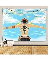タペストリーの壁掛け漫画アニメのアパートのアパートのためのすべての装飾のためのすべての装飾ホームアートウォールタペストリー寝室の寮の寮 (Color : D, Size : 203*173)