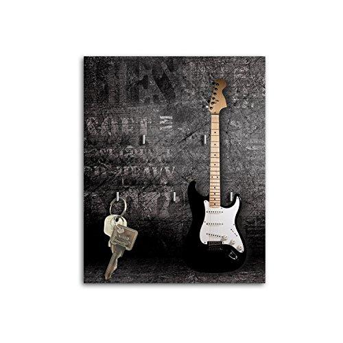 Dalinda Plaque de Guitare avec Design sB466 relaxdays Porte-clés