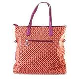 'french touch' bolsa 'Agatha Ruiz De La Prada'rojo anaranjado - escalas de flores.