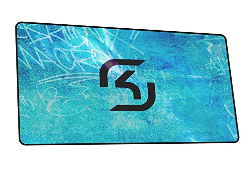 WZRYJDQS Alfombrillas De Ratón Mouse Pad SK Gaming Gamer Anime Mouse Mat Gel Pad Pc Escritorio Pad Mouse C 900X400Mm