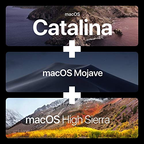 Catalina 10.15, Movaje 10.14 and High Sierra OS 10.13-3 in 1 Bootable USB Repair Upgrade for Macbook Pro, Mac Mini, iMac by TechGeek