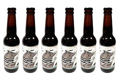 Mouse Hill - Pack de 6 botellas de Cerveza Artesana Black Garlic, Premio Silver en BARCELONA BEER CHALLENGE 2016