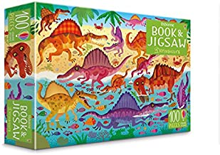 usborne book and jigsaw dinosaur