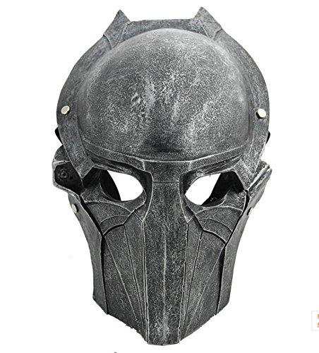 Gmasking Resin Predator Falconer Costume Adult Mask 1:1 Scale Replica Sliver