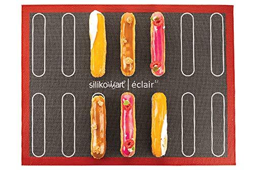 Alfombra de silicona microperforada Air Mat Éclair Silikomart Professional 583 x 384 mm