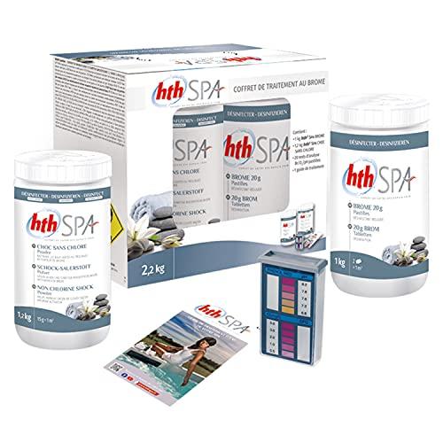 Happy Garden Kit de Traitement au Brome HTH pour Spa Gonflable 2,2kg