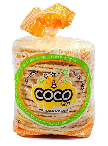 Coco Lite Muligrn Pop Cakes Original Pop Cakes 2.64 Ounce, Pack of 12