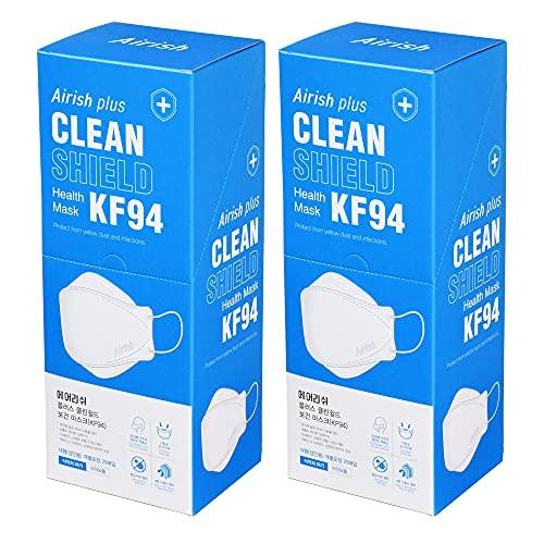 MEDIK 高密度4層構造フィルターKF94マスク Airish Plus 40枚 使い捨て 不織布 立体3Dマスク PM2.5 飛沫 花粉 MCH-KF94-P40
