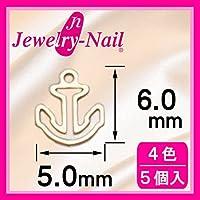 [フレーム]ネイルパーツ Nail Parts フレームイカリ(M) ホワイト 日本製 made in japan