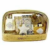 Gloss - caja de baño, caja de regalo para mujeres -  Kit de baño espumoso brillo Bliss - flor blanca y almizcle - 6pcs