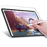 JETech Protector Pantalla de Papel Write Like Compatible iPad Air 4 10,9 Pulgadas (4.ª Generación), iPad Pro 11 Pulgadas (Modelos 2020 y 2018), Antirreflejos, Película de Papel PET Mate para Dibujar