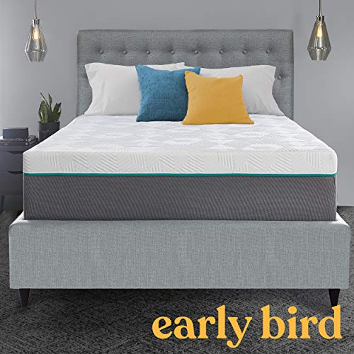 For Sale! Performance Hybrid 12 Inch Medium Antimicrobial Copper Infused Mattress, Cooling Memory Foam Comfort and Innerspring Support, Bed in a Box, CertiPUR US Foam, Made in The USA, Queen