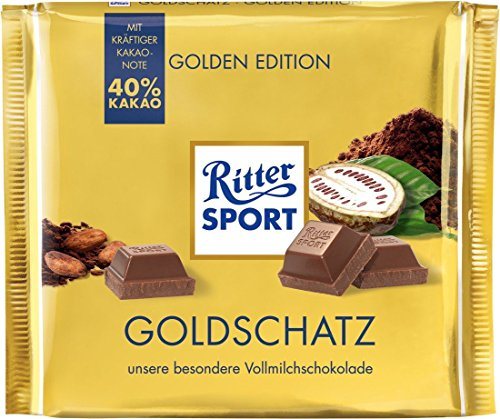 Ritter Sport Goldschatz, (1 x 250 g)