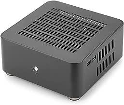 RGEEK Top Cover with Holes, Aluminum Mini ITX Computer Case PC Case HTPC