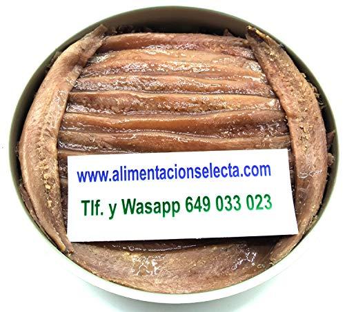 Anchoas de Santoña Gourmet Lata 280gr neto 40 Filetes Engraulis Encrasicolus Anchoa...