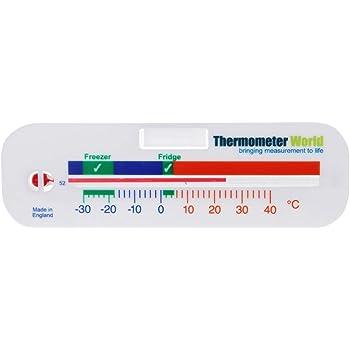 Termometro per frigorifero, utilizzabile anche come termometro per congelatore, per frigorifero e refrigeratore