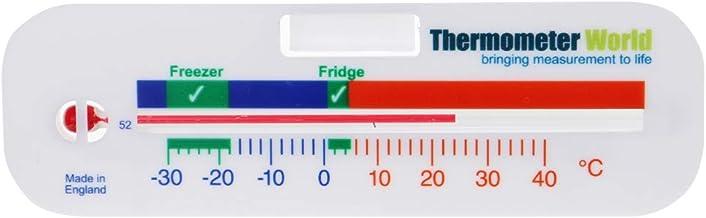 Termómetro de frigorífico y congelador, medidor de