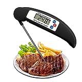 BERYCH Termómetro digital de carne instantáneo con pantalla...