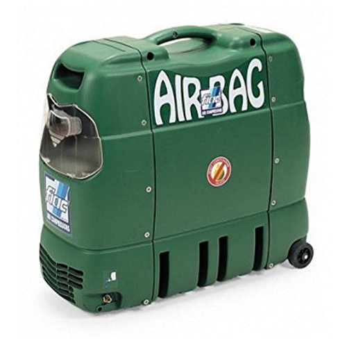 Compresor de aire Airbag 1,5 Fiac portátil HP silenziato 69 db, motor monofásico