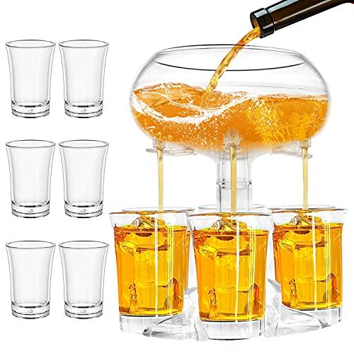 hikotor 6 Shot Glass Dispenser