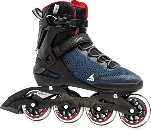 Rollerblade SPARK 84 Inline Skate dark denim/jester red, 45