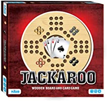 Nilco Jackaroo Game with Wooden Board and Cards