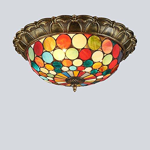 Vintage Tiffany Deckenleuchte Schöne Deckenleuchte Im Tiffany Stil Deckenlampe Jugendstil...
