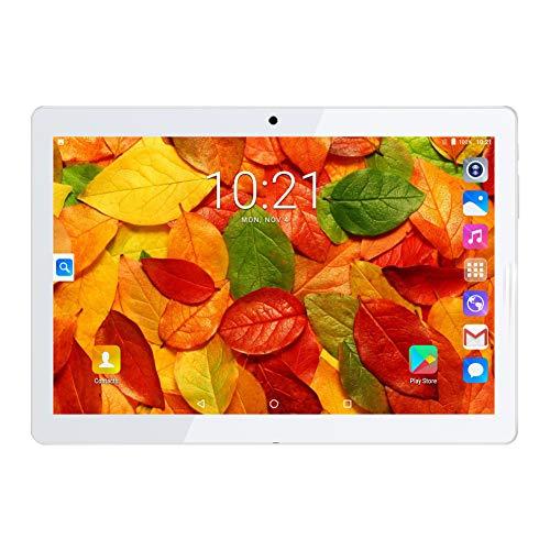 PADGENE 10 Zoll Android Tablet PC 2G RAM 32G Speicher 5MP Hinten & 2MP Frontkamera Dual-SIM Slots USB/SD IPS HD 1280x800 WiFi/3G/2G Entsperrt Bluetooth GPS Telefonfunktion