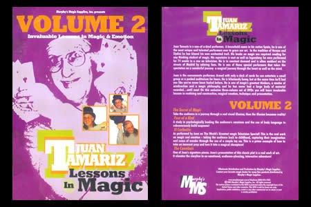 Lessons in Magic Volume 2 by Juan Tamariz - DVD