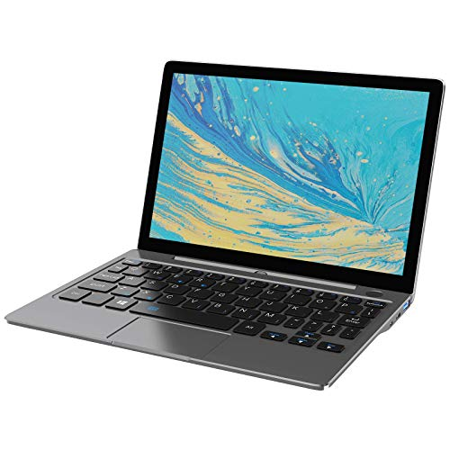 GPD P2 Max Windows 10 Ultrabook, tragbarer Mini-PC, UMPC, 2in 1 Pocket Laptop; Intel Core m3-8100y, HD 62, 16 GB RAM, 512 GB ROM, Dual-Band Wi-Fi [P2-MAX-GRAU-8100y]