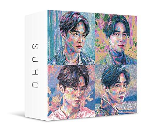 SM Entertainment [KIHNO Album] Suho - Self-Portrait (1st Mini Album) KIT+Extra Photocards Set