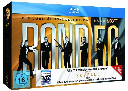 James Bond - Bond 50: Die James Bond Jubiläums-Collection [Blu-ray]