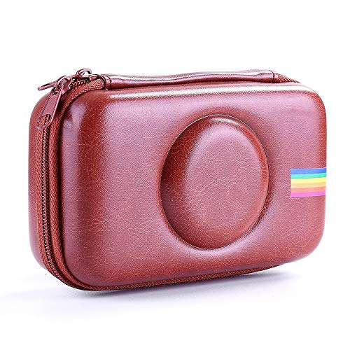 Fundas protectoras para cámara Bolsa de cámara EVA a prueba de golpes Bolsa de almacenamiento para Polaroid Snap Touch (negro) (Color: Marrón)