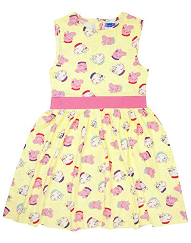 Peppa Pig - Vestido Modelo Peppa and Suzy Party para niñas (5-6 Años