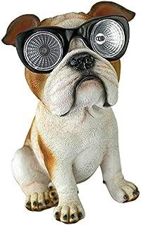 Design Toscano Bright Eyes Solar Pug Dog Garden Statue